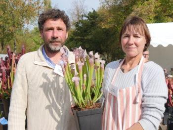 Catherine et Matthieu Jehanne, producteurs de plantes carnivores - Hortus Focus
