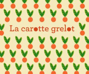 une carotte grelot