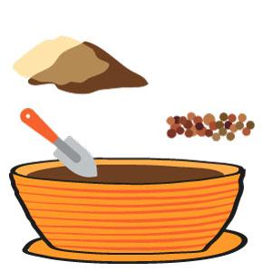 carottes grelot - la préparation
