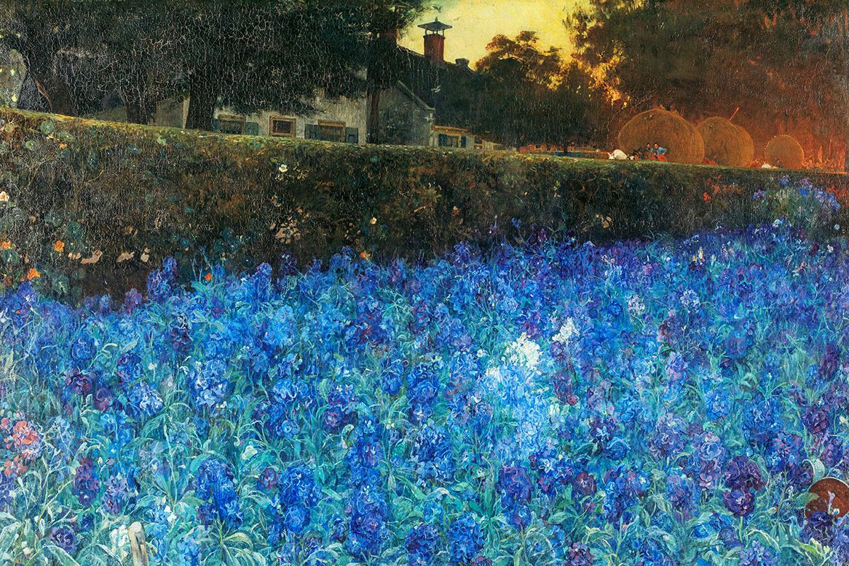 tableau bleu - Hortus Focus