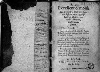 Traité des confitures Nostradamus - Hortus Focus