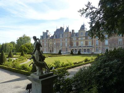 Seine-Maritime - Jardin du château d'Eu