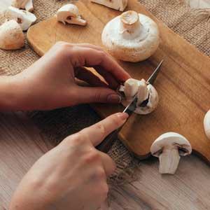 Velouté : champignons de Paris