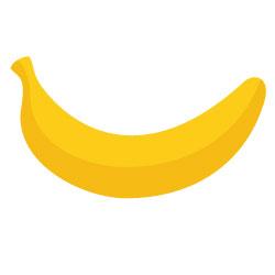 sucre :  banane