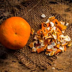 oranger amer - bigaradier - écorces