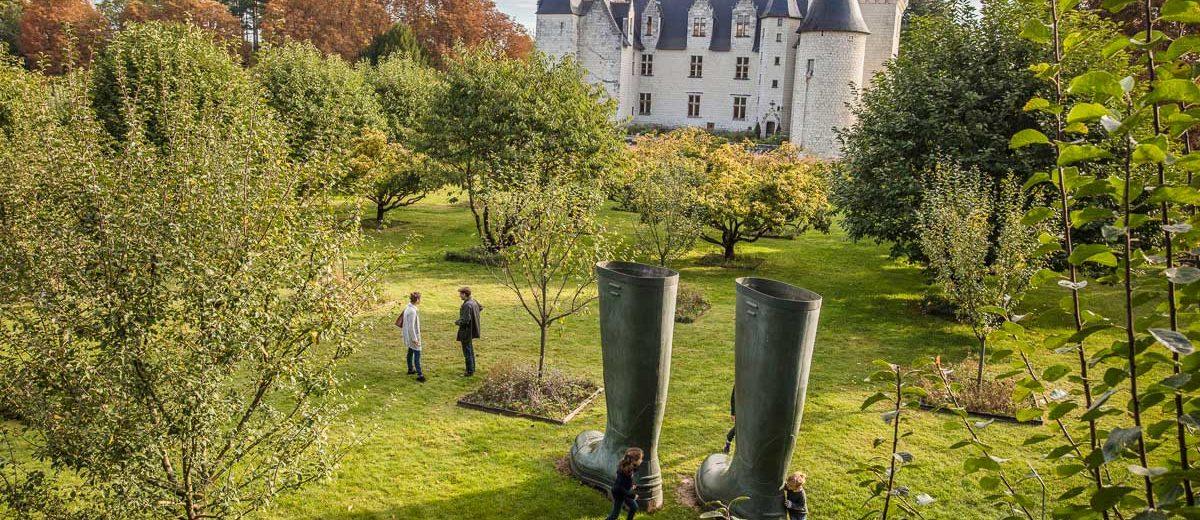 Chateau du Rivau : les bottes