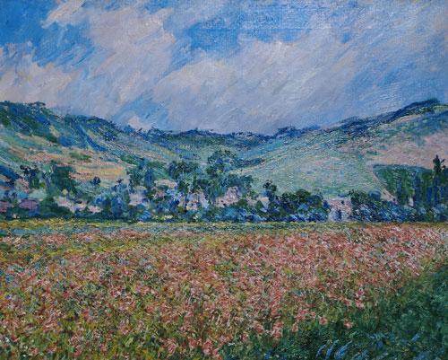 Claude Monet, champ de coquelicots, environs de Giverny