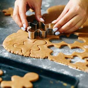 gingerbread préparation du biscuit