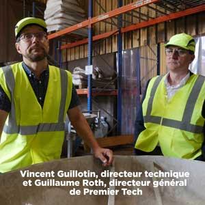 Terreau : Vincent Guillotin et Guillaume Roth