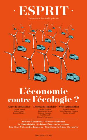 l'écologie : livre - léconomie contre l'écologie?