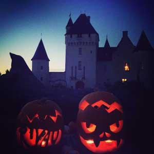 Halloween : Château du Rivau