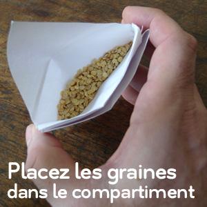 Pochette à graines - étape 13