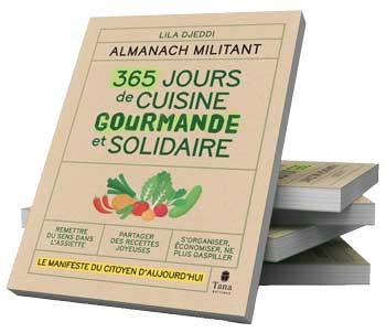 Livre : 365 jours de cuisine gourmande et solidaire