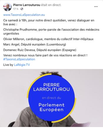 Live FB-Pierre Larrouturou