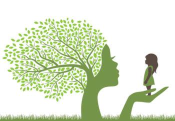arbre et bébé