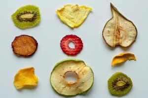 Déshydratation : fruit