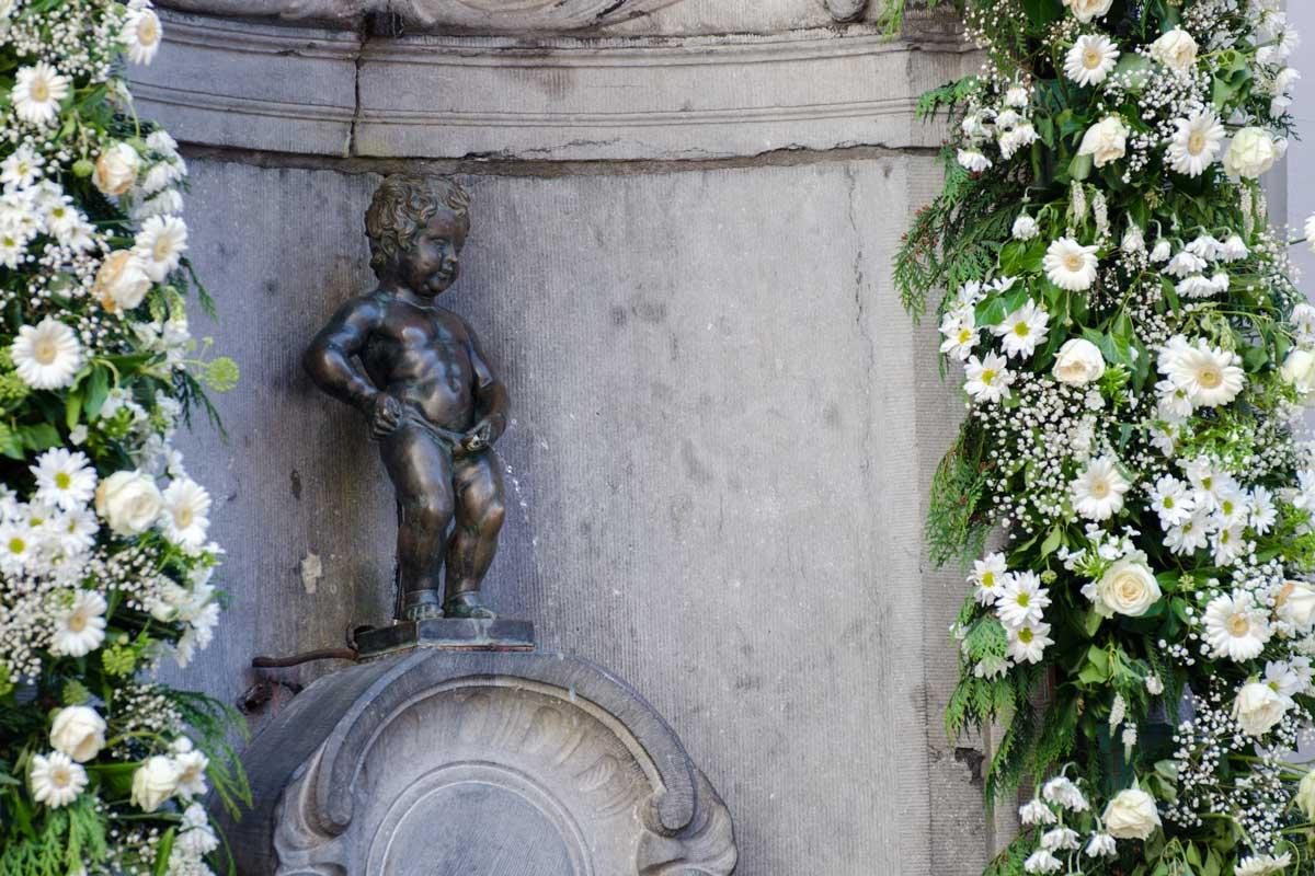 L'urine : Mannaken pis - Bruxelles