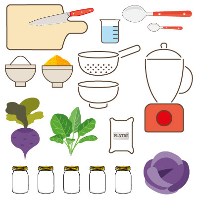 craies végétales : les ingrédients
