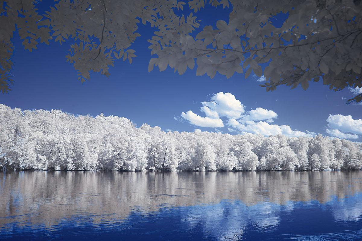 lac et neige