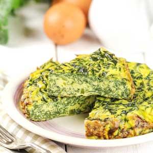 Achillée millefeuille : omelette