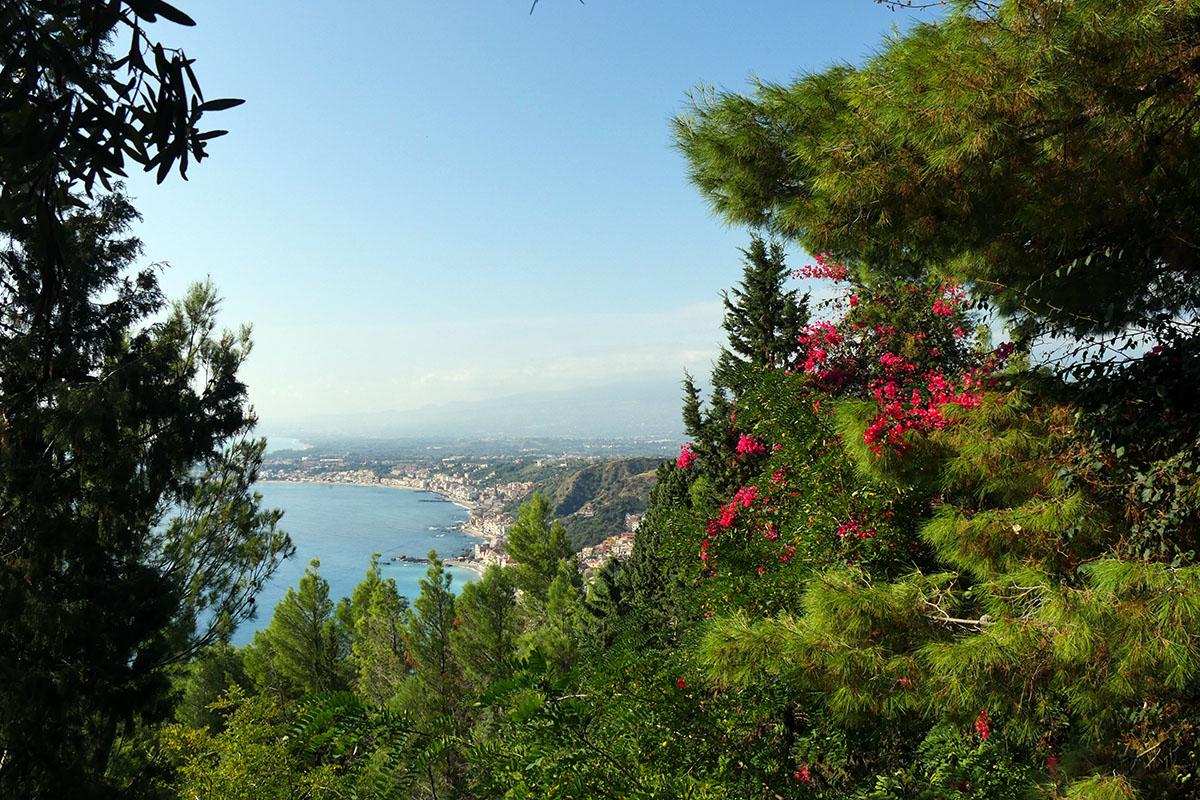 Vue depuis Taormine