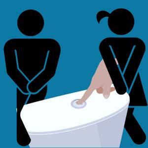 L'urine et la cosommation d'eau