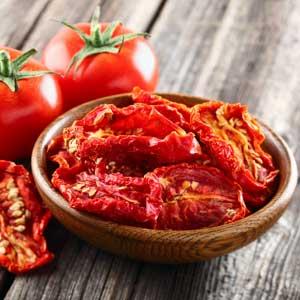 Déshydratation : tomates