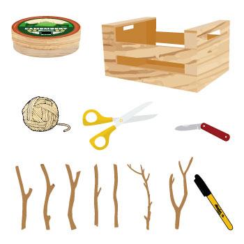 Fabrique tes étiquettes : le matériel