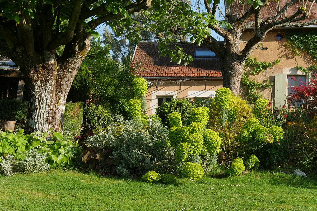 Jardin de Marie dans le Berry