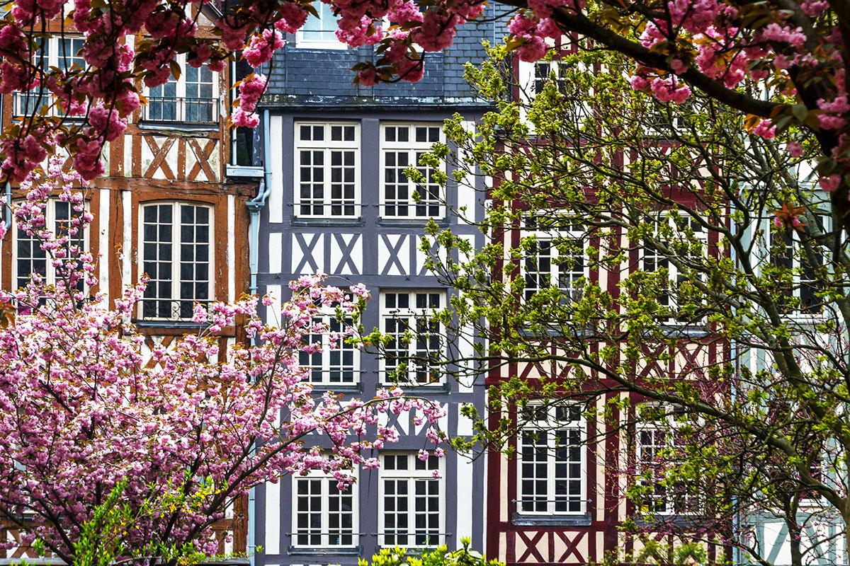 Façades à Rouen