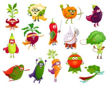 legumes masqués