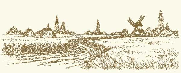 illustration moulin