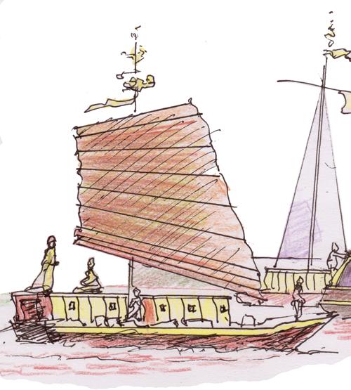 épices : la route en bateau