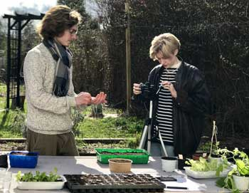 Permaculture : tournage