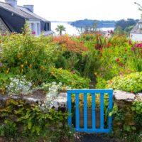 bord de mer : jardin