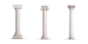 chapiteaux grèce antique
