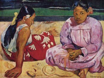 Paul Gauguin Femmes à la plage