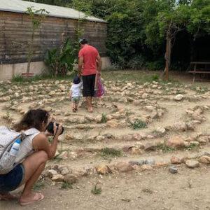 Le Labyrinthe aux 1000 fleurs : labyrinthe celte