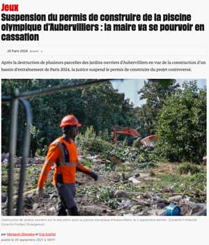 Article de Libération