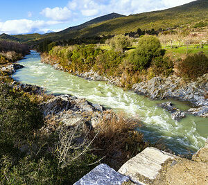 Le fleuve Tavignanu en Corse