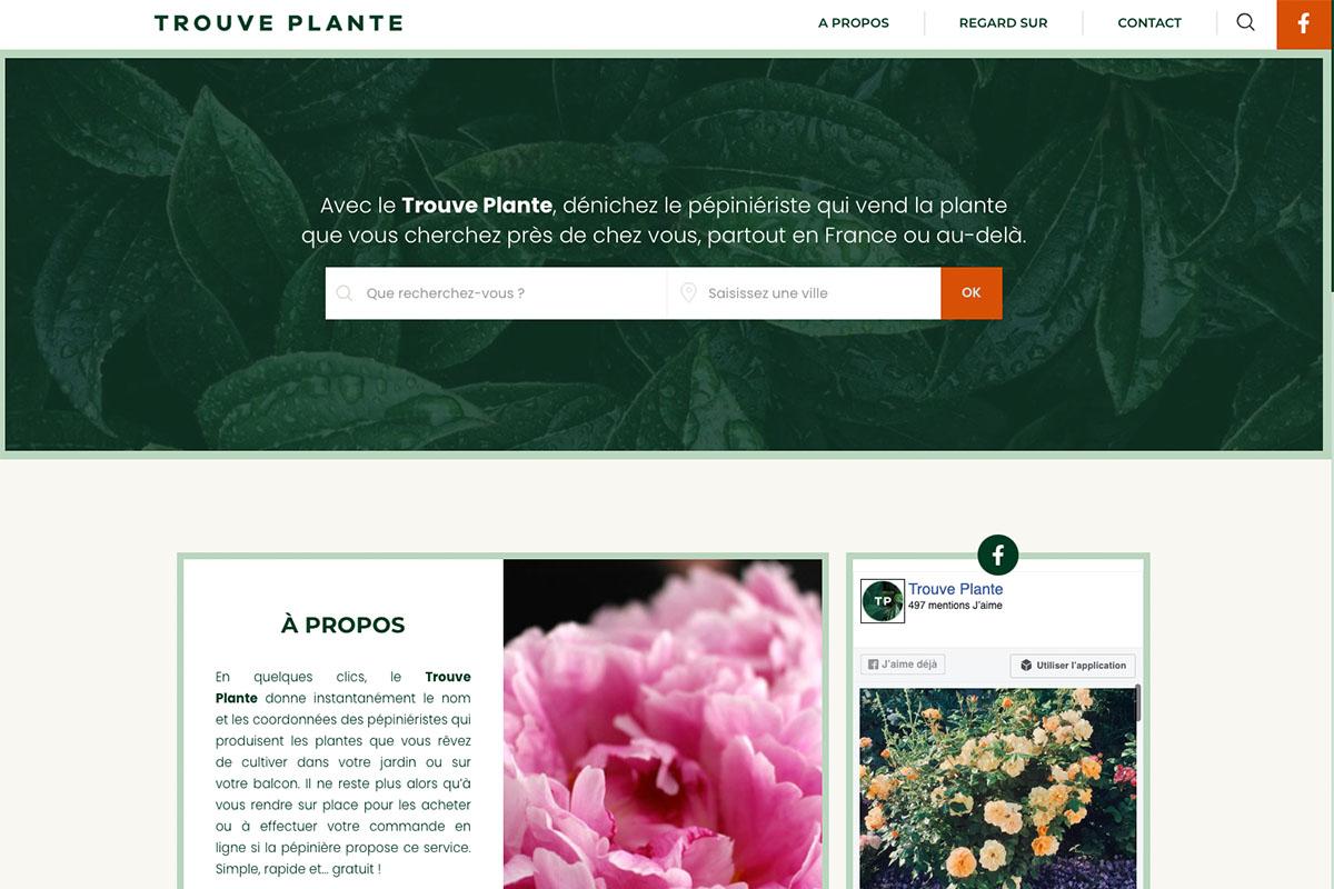 Trouve-plante
