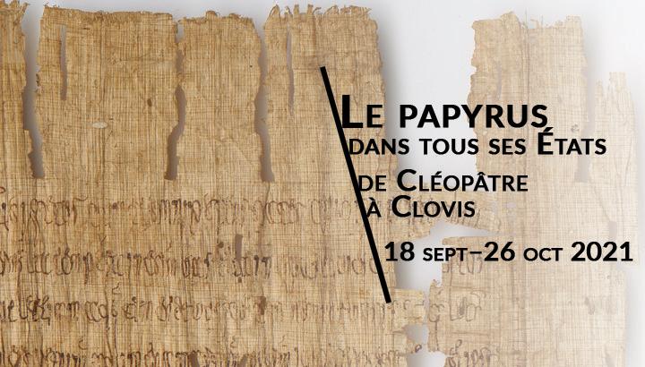 exposition papyrus rares