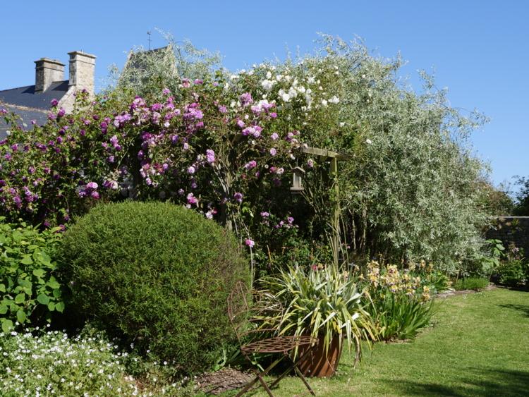 jardin dans le Cotentin