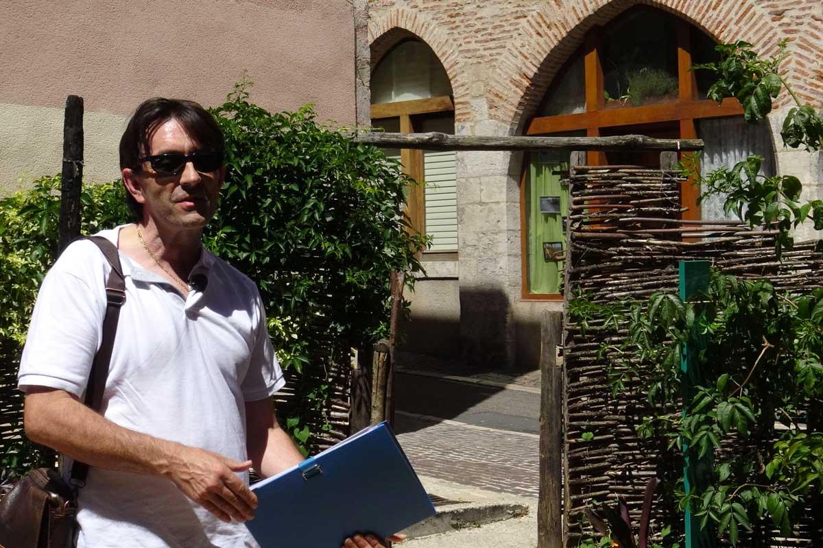 Denis Pomier, jardinier de Cahors