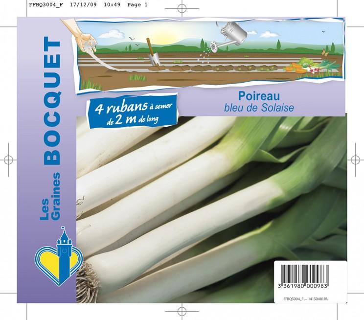 Bouquet Poireau bleu