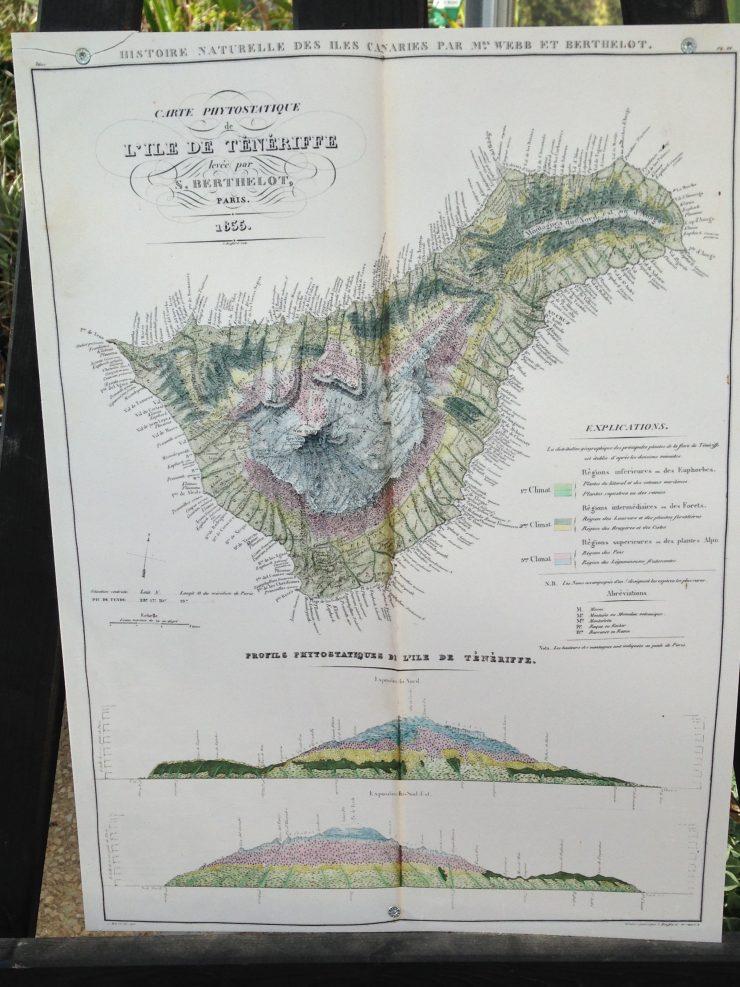 Carte de Tenerife - Canaries