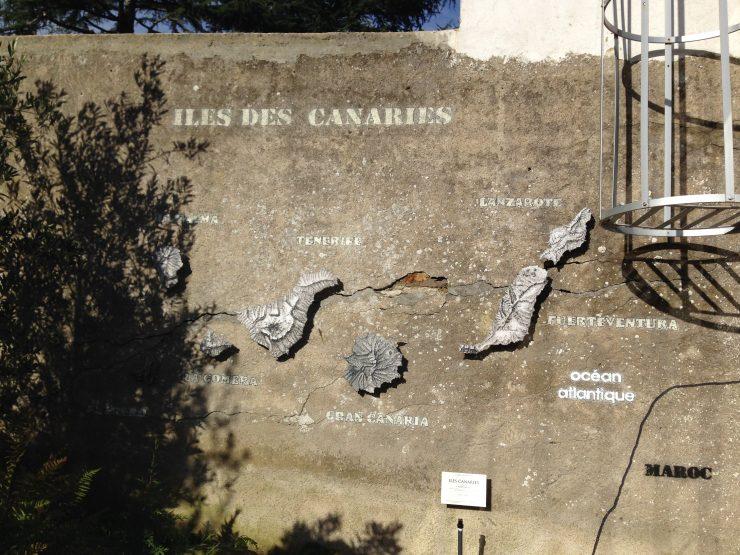 Carte des Canaries