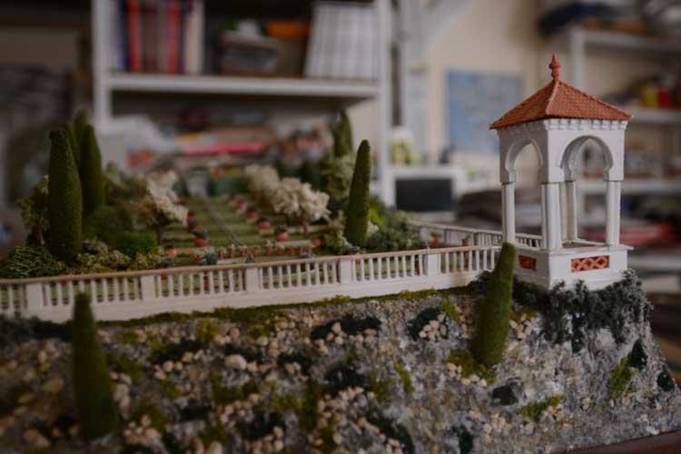 Les maquettes de jardins de Jacques Hennequin