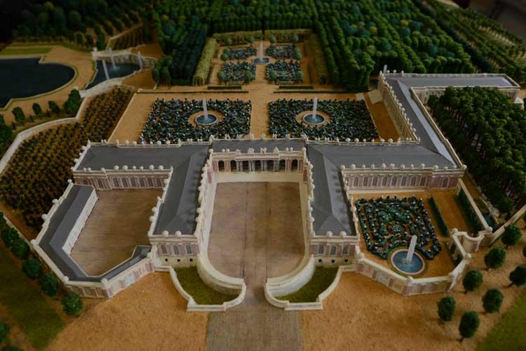 Maquette du Grand Trianon à Versailles