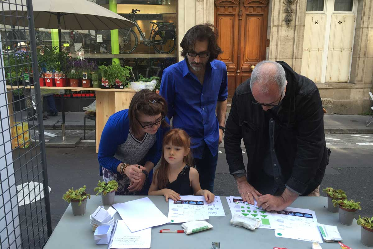 Le Jardin éphémère de Paris 9